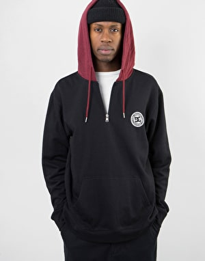 DC Rebel PH Half Zip Sweatshirt - Black