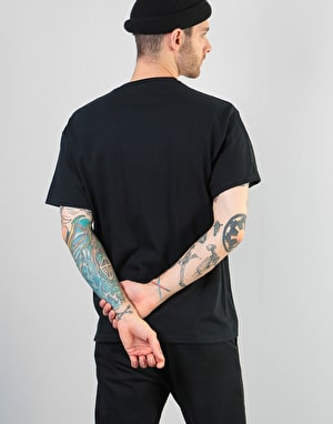 Thrasher China Banks T-Shirt - Black