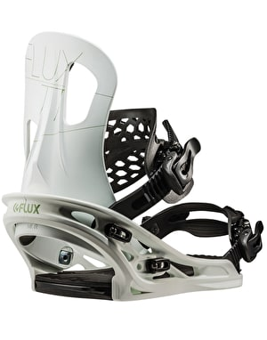 Flux TT 2019 Snowboard Bindings - White