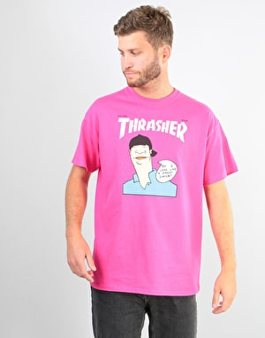 Thrasher Gonz Cover T-Shirt - Pink