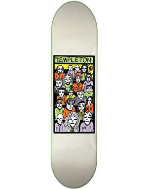 Toy Machine Templeton Faces in the Crowd Skateboard Deck - 8.5