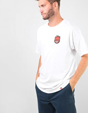 Spitfire Lil Bighead Fill T-Shirt - White/Red