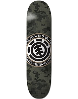 Element Bark Camo Seal Skateboard Deck - 8