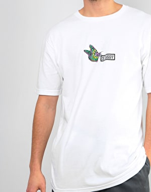 Stüssy Butterfly T-Shirt - White