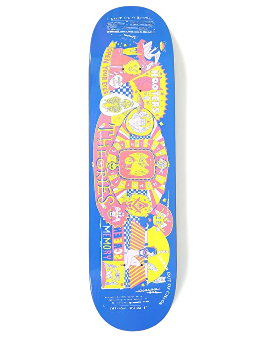 Theories Screen Memory Skateboard Deck - 8.25""