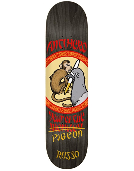 Anti Hero Russo Year of the Pigeon Skateboard Deck - 8.38""