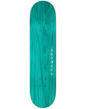 Krooked Ronnie Dangerus Skateboard Deck - 8.38
