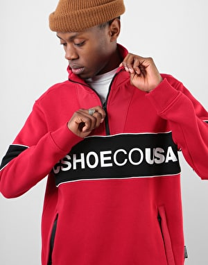 DC Clewiston Mock Sweatshirt - Tango Red