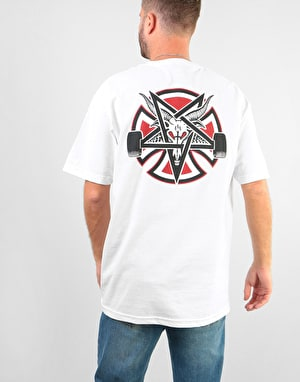 Independent x Thrasher Pentagram Cross T-Shirt - White