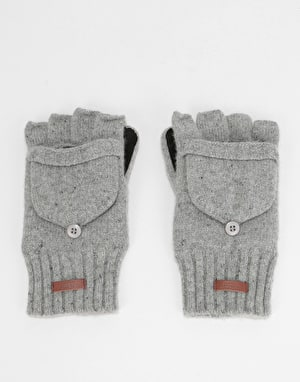 Barts Haakon Bumgloves - Heather Grey