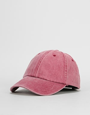 Route One Vintage Low Profile Dad Cap - Vintage Red