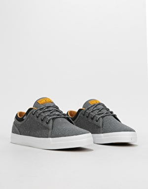 DVS Aversa+ Skate Shoes - Charcoal/Black/White