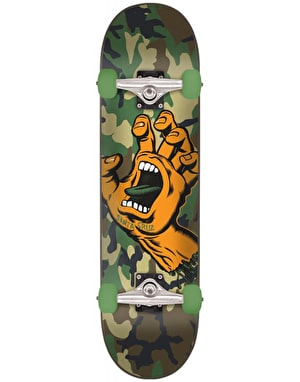 Santa Cruz Screaming Hand Camo Complete Skateboard - 6.75