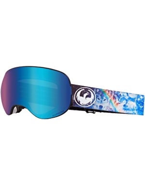 Dragon X2 2019 Snowboard Goggles - Galaxy/LUMALENS® Blue Ion