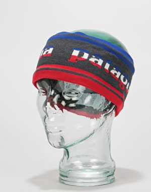 Patagonia Lined Knit Headband - Park Stripe Band/Forge Grey