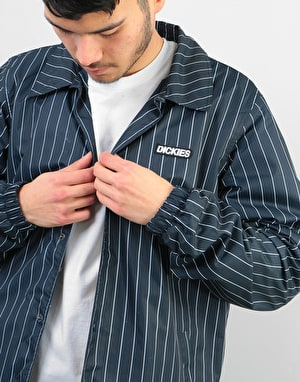 Dickies Dewitt Sherpa Lined Coach Jacket - Dark Blue