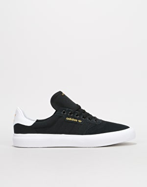 Adidas 3MC Skate Shoes - Core Black/White/Core Black