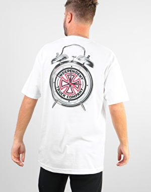 Independent x Thrasher Time to Grind T-Shirt - White