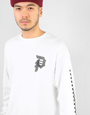 Primitive Dirty P Warp L/S T-Shirt - White