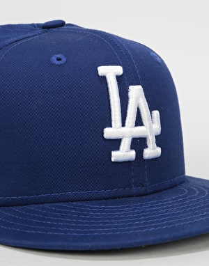 New Era 9 Fifty MLB Los Angeles Dodgers Snapback Cap - Royal Blue