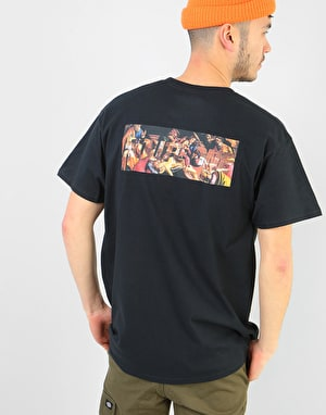 Route One Old Masters II 'Baroque' T-Shirt  - Black