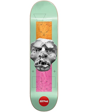 Almost Yuri Stone Head Impact Light Skateboard Deck - 8.375