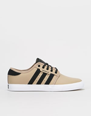 Adidas Seeley Skate Shoes - Trace Khaki/Core Black/White