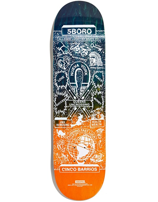 5Boro Lucky Queens Skateboard Deck - 8.375""