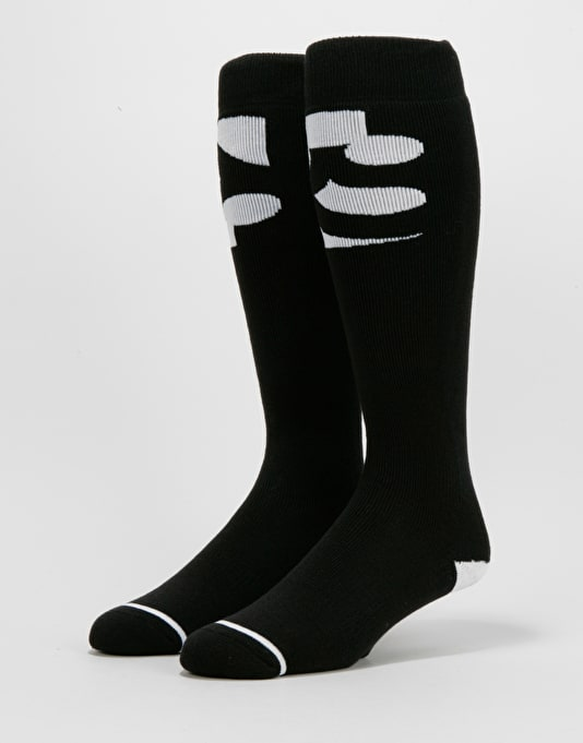 ThirtyTwo Cut Out Snowboard Socks - Black