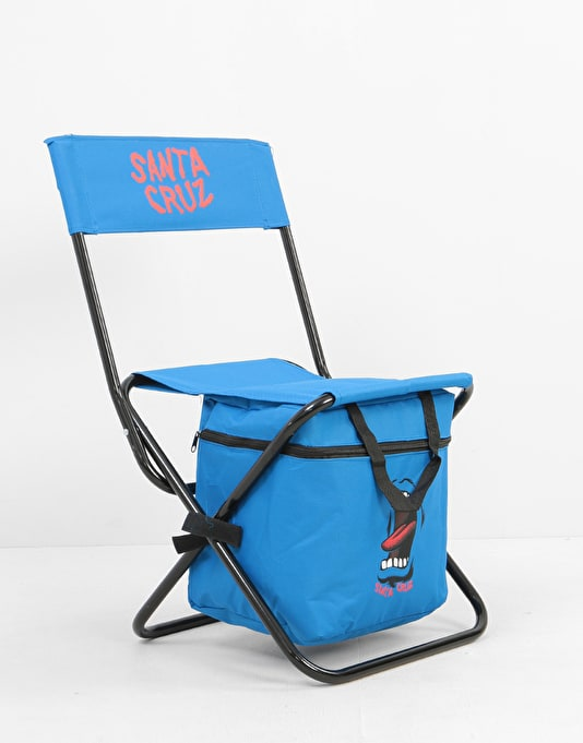 Santa Cruz Screaming Hand Foldable Chair - Blue