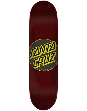 Santa Cruz Classic Dot Taper Tip Skateboard Deck - 8