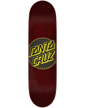 Santa Cruz Classic Dot Taper Tip Skateboard Deck - 8.5