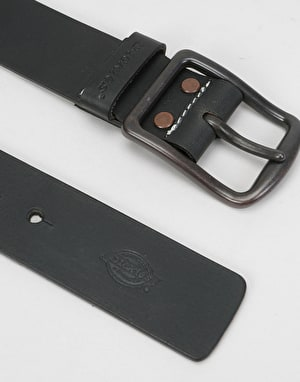 Dickies Helmsburg Leather Belt - Black