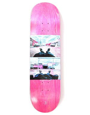 Polar Zawisza Happy Sad Around The World Skateboard Deck - 8.625