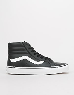Vans Sk8-Hi Reissue Skate Shoes - (Classic Tumble) Black/True White