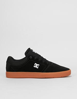 DC Crisis Skate Shoes - Black/White/Gum