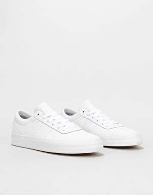 Converse One Star CC Pro Ox Skate Shoes - White/Dolphin/White