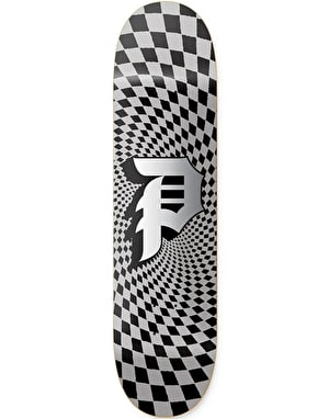 Primitive Dirty P Check Skateboard Deck - 8.5