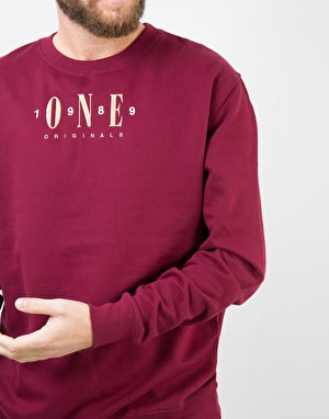 Route One Originals Sweatshirt - Burgundy