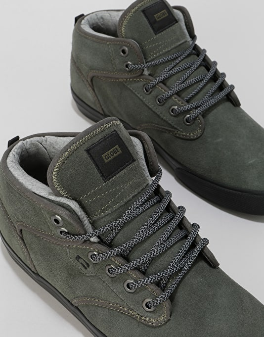 Globe Motley Mid Skate Shoes - Dusty Olive/Black/Winter