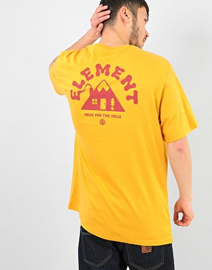 Element A Frame T-Shirt - Mineral Yellow