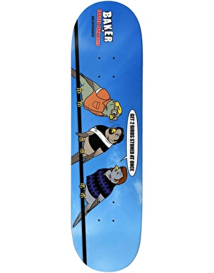 Baker x Trailer Park Boys Dee 2 Birds Skateboard Deck - 8.25