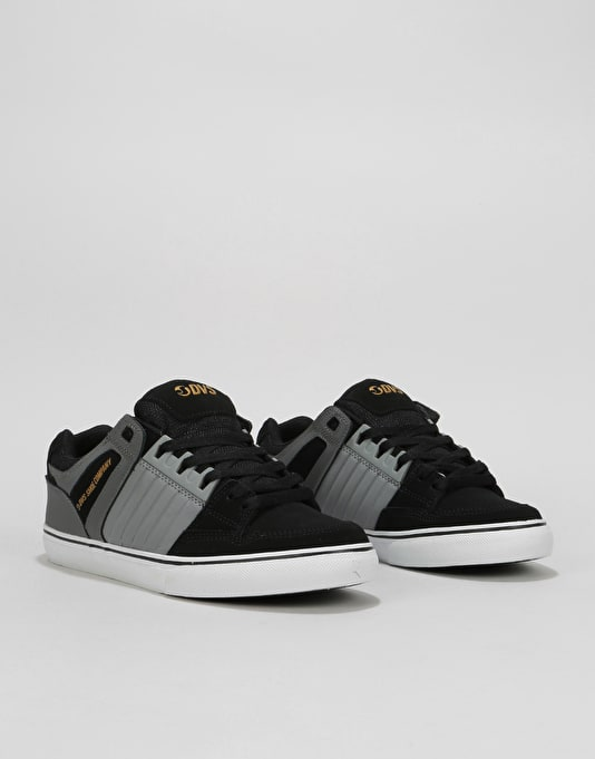 DVS Celsius CT Skate Shoes - Charcoal/Grey/Black Nubuck