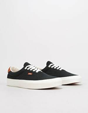 Vans Era 59 Skate Shoes - (Flannel) Black
