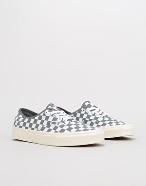Vans Authentic Skate Shoes - (Checkerboard) Pewter/Marshmallow