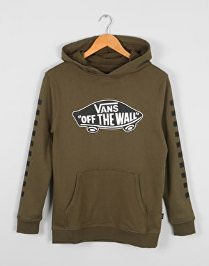 Vans Exposition Boys Pullover Hoodie - Grape Leaf/Black