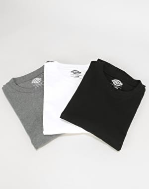 Dickies  Multi-Colour T-Shirt Pack T-Shirt - Assorted