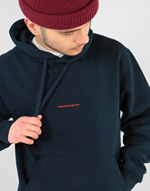 Poetic Collective Art is Action Pullover Hoodie - Navy