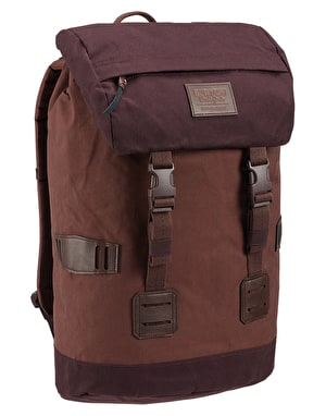Burton Tinder Pack - Cocoa Brown Waxed Canvas