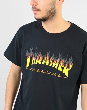 Thrasher BBQ T-Shirt - Black
